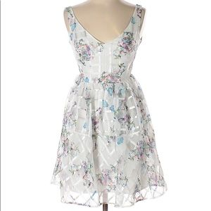 Anthropologie Maeve Garden Floral Dress
